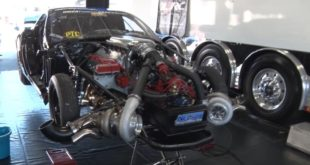 Twin Turbo Corvette Destroyed Everything At The Drag Strip, Including Itself