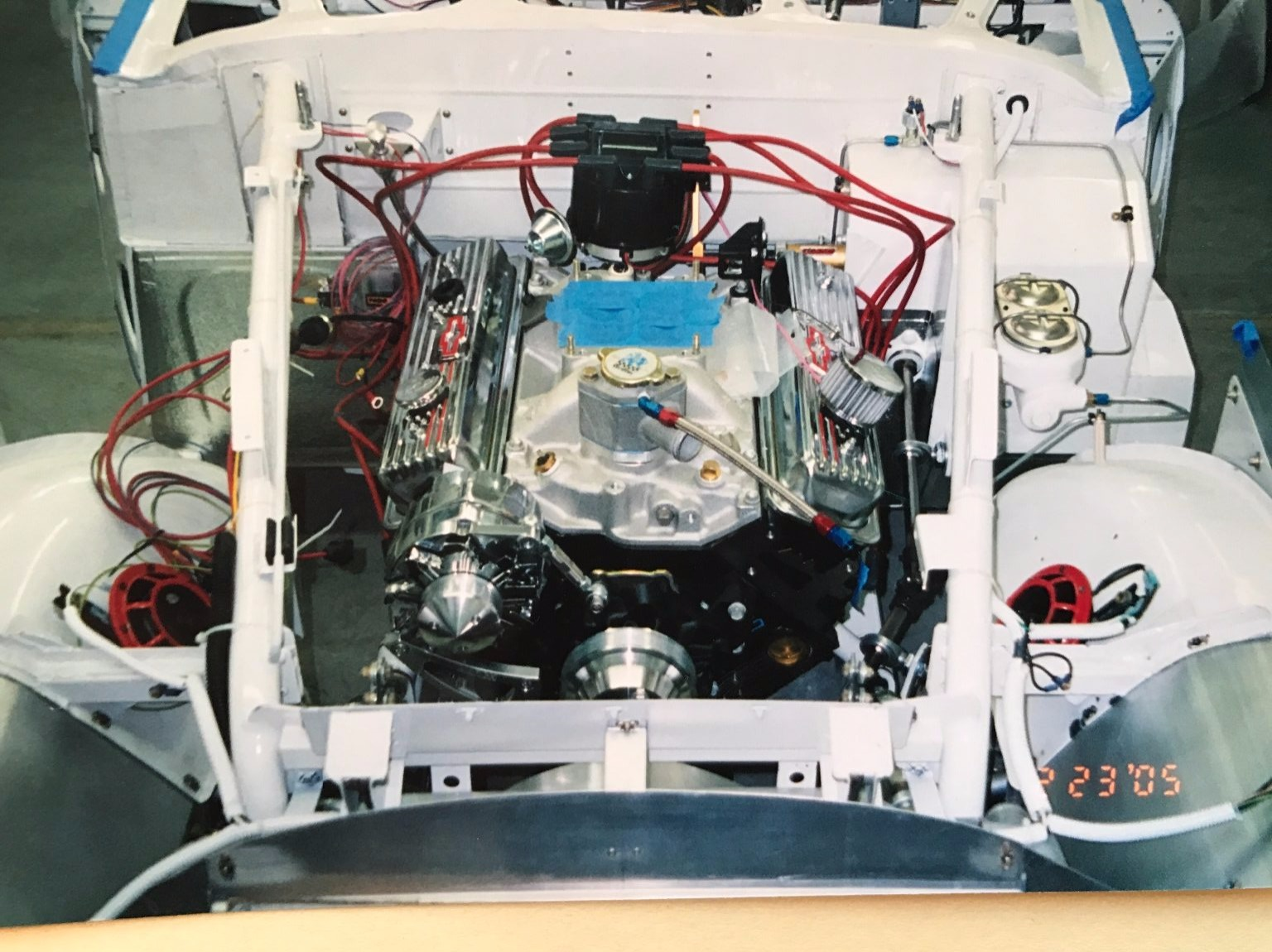 An Aero Space Engineer Cramed A Chevy Crate Engine Into A