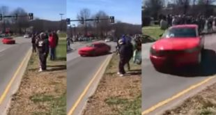 Doing This At A Cars & Coffee Got The 19-Year-Old Arrested. Maybe Up To 15 Years In Prison