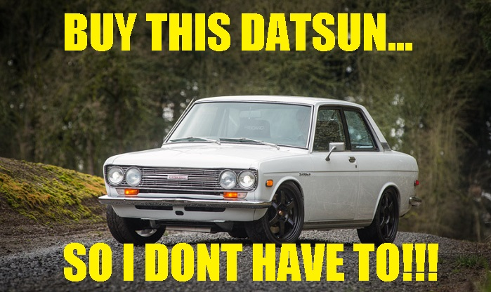This Datsun 510 With A SR20 Heart Is Almost Perfect