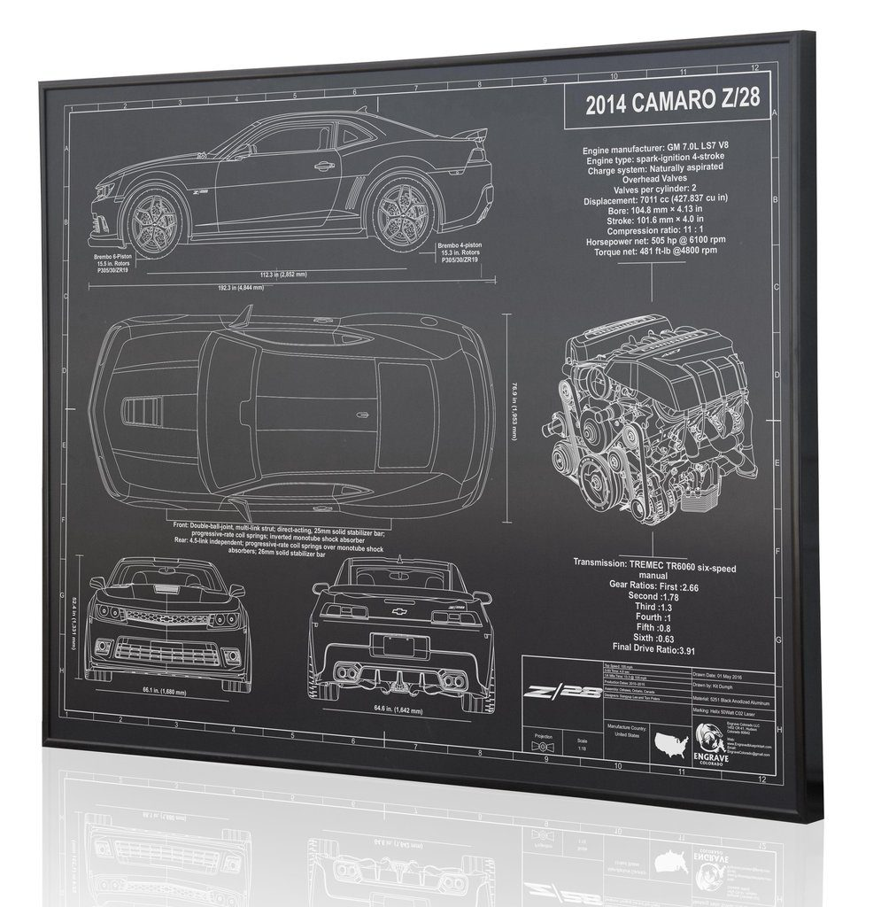 The Perfect Gift That Will Make Gearheads Go Nuts Shifting Lanes Diagram Of Downforce Generated By Raked Underbody Camaro 5th Gen Z28black